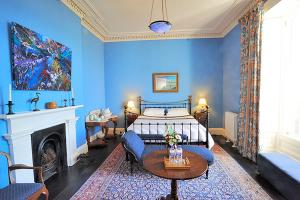 Drimnin House - The blue bedroom
