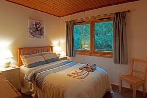 Hillside Chalet - Double Bedroom